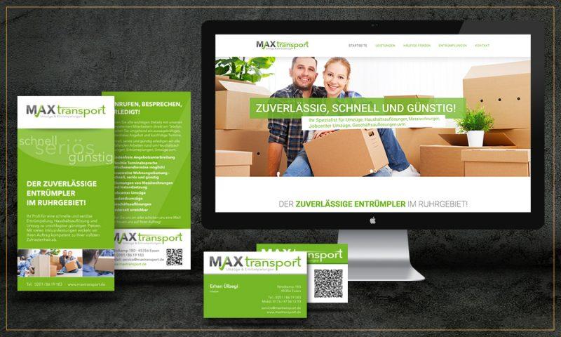 Ein einheitliches Erscheinungsbild – Corporate Design – ist für einen professionellen Firmenauftritt unerlässlich. Wir realisieren Ihrer individuelles CD!
