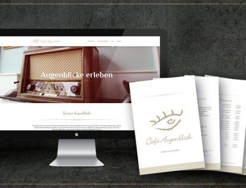 Webdesign und Speisekarten